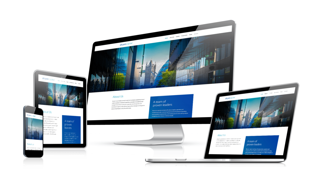 responsive web design company website development in india