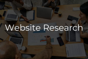 Website Research